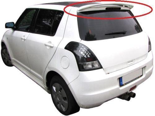 suzuki swift dachspoiler heckspoiler fl gel ebay. Black Bedroom Furniture Sets. Home Design Ideas