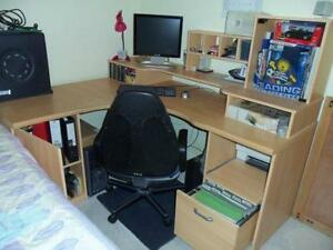 corner office computer desk. Home Office Corner Desk Computer O