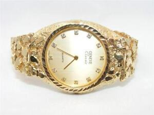gold nugget watch gold nugget watch band