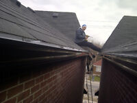 Eaves trough Cleaning ,Gutter Cleaning