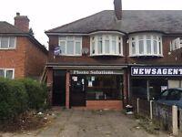 *B.C.H*-Commercial Shop-School Road, YARDLEY WOOD-Close To Yardley Wood Train Station