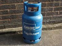 Calor gas butane 7kg caravan camping gas empty bottle for exchange