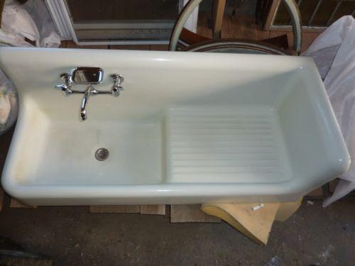 Antique Porcelain Sink Ebay