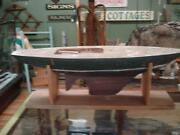 Antique Model Boat