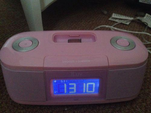 radio alarm docking station ebay. Black Bedroom Furniture Sets. Home Design Ideas
