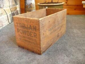 Old Wood Crate