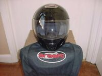 ARASHI VEXON SA08 FULL FACE MOTORCYCLE/BIKE HELMET SIZE LARGE 60cm
