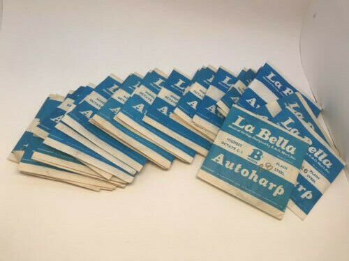 E&O Mari LaBella Autoharp Strings Model B Mixed Incomplete, Check Description