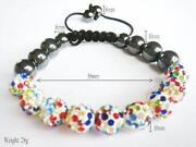 Multi Coloured Shamballa Bracelet