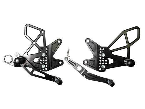 Vortex V2 Adjustable Rearsets Rear Sets Yamaha YZF R6 (2006-2017) & 2010 R6S