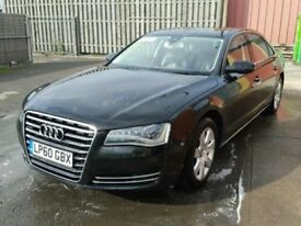 AUDI A8 A8L D4 NEW SHAPE 2010-2016 ENGINE BREAKING SPARES DOORS AIRBAG XENON