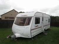 4 Berth Coachman Amara with end fixed bed