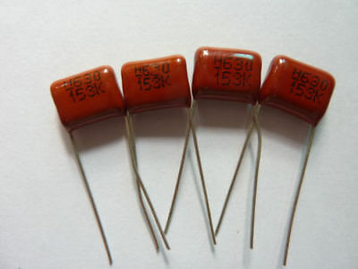 500PCS 1000V 0.0033uF 3.3nF 3300pF 3A332J ±5/% Mylar Film Capacitors Radial