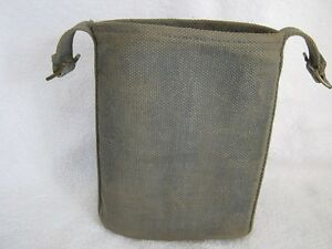 WW2 British RAF P-37 Web Canteen Carrier