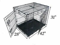"42"" extra large dog cage is for sale - barely used"