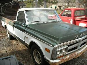 1969 GMC 1/2 ton project truck body