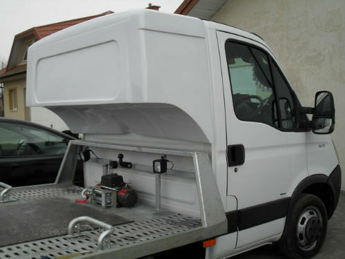 Transit Daily Sprinter Crafter Recovery Truck Sleeping