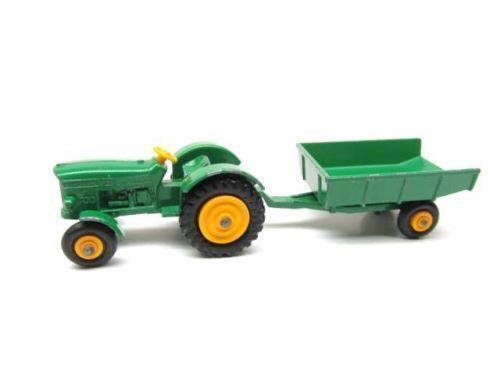 John Deere Matchbox Tractor : Matchbox john deere tractor ebay