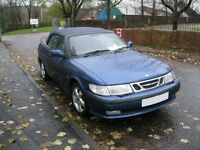 2001Y  SAAB 9-3 SE 2.0 TURBO MANUAL CONVERTABLE