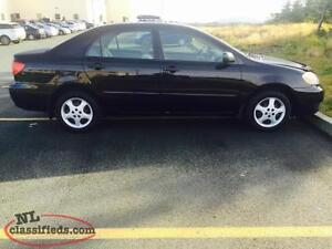 2005 Toyota Corolla serviced and inspected!!!