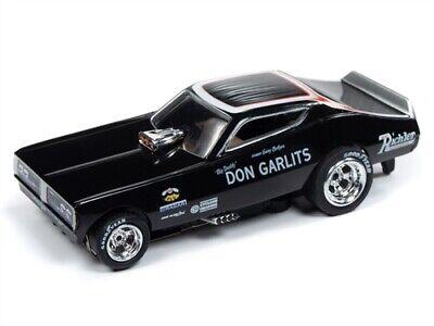 Big Daddy Gear - Auto World 4Gear R22 1971 Dodge Charger Big Daddy HO Slot Car SC342-2