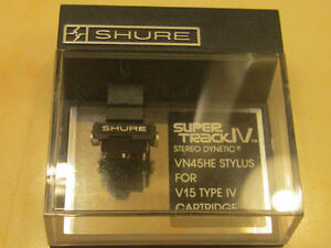 Looking for Shure VN45HE stylus or similar jico generic