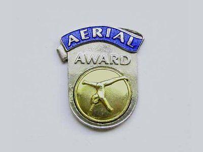 State Championships Level 5 Gymnastics Award Jeweled Lapel Pin CONGRATULATIONS