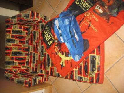 CARS FLIPOUT SOFA BED & COVER