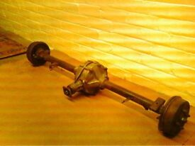 Reliant rear axle wanted
