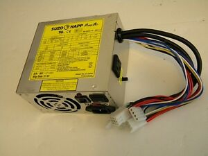 Happ Power Pro 20 Amp Switching  Power Supply Arcade 8 Liner Cherry Master PC