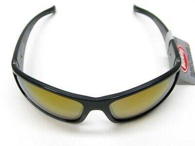 Berkley 1416024 Gloss Black Copper Badger Red Mirror Polarized Lens (Berkley Sunglasses Polarized)