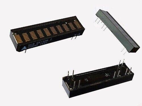 SCD55103A LED Alphanumeric DOT matrix Display 10 DIGIT 5x5 Grün 1 Stück
