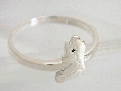 Silberring 925 Teddybär Pooh der Bär massiver Ring Silber Teddy