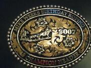 Rodeo Champion Buckle