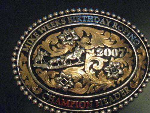 Rodeo Champion Buckle Ebay