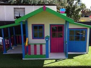 Grand Malibu ACASIA HARDWOOD Kids Cubby House - Delivery Avail Kingswood Penrith Area Preview