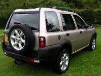 LANDROVER FREELANDER TD4 2003 IMMACULATE JEEP 4X4 FSH
