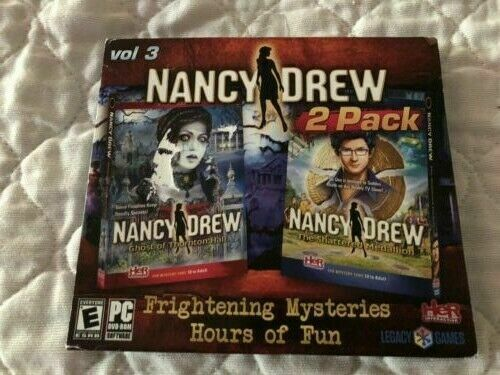 Computer Games - Nancy Drew 2 Pack Vol 3 NEW PC/Computer Game - Factory Sealed