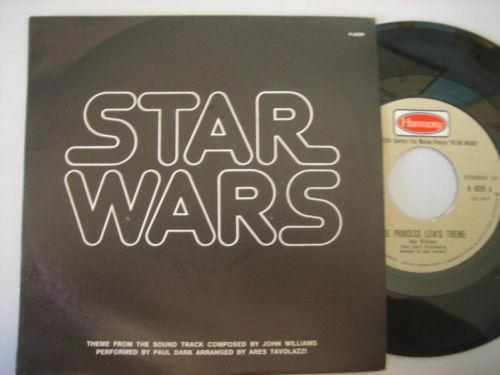 Star Wars 45 Record Ebay