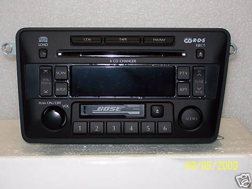 2002 2003 Infiniti QX4 OEM 6 CD Changer Combo PN-2439N CR050