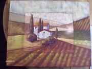 Wandbild Toskana