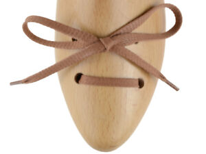 Lacci-scarpe-piatti-cerati-marrone-chiaro-da-90cm-per-scarpe-casual