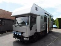 Iveco Race Truck - Rear Garage - 3 Seatbelts - Rear Fixed Bed - Overcab Bed
