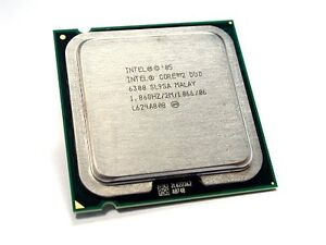 Intel Core 2 Duo 1.86 GHz / 2M / 1066 Mhz CPU E6300 Processor LGA 775 socket