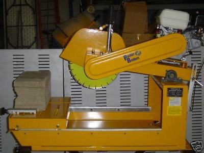 Packer Brothers Brick Tile Concrete Block Saw Gx Honda
