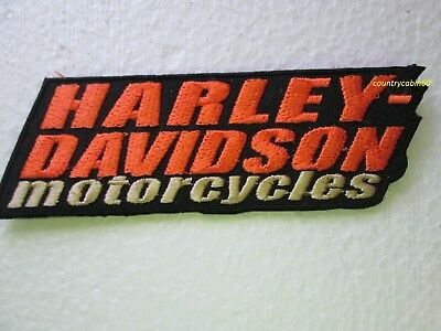 HARLEY DAVIDSON STACKED VEST PATCH - (SMALL) OBSOLETE DESIGN