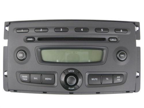 smart 451 radio radios dvd player wechsler ebay. Black Bedroom Furniture Sets. Home Design Ideas
