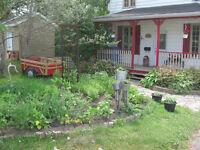 Jolie maison à louer - tout meublé - pour un an - Québec