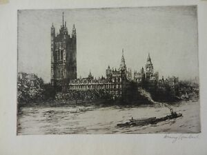 Henry Lambert etchings for sale