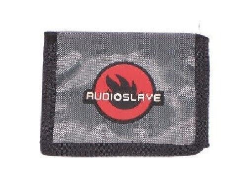 Audioslave Grey Nylon Tri Fold Wallet New Official Chris Cornell